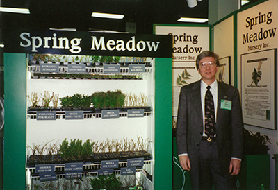 Spring Meadow booth circa 1994